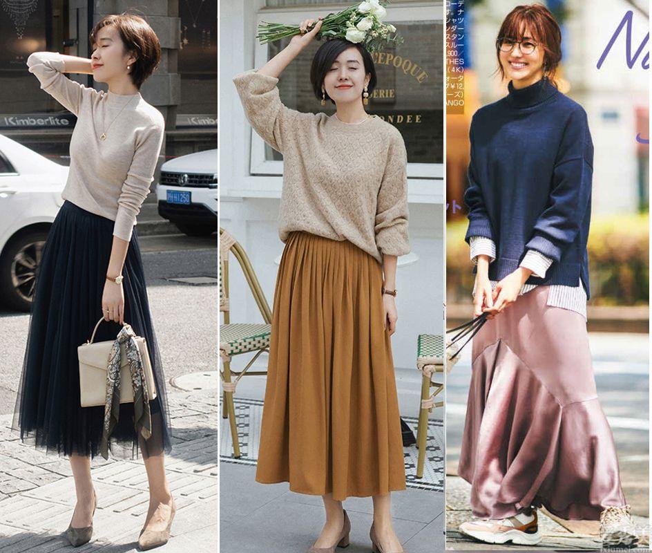 秋天的時髦盡量得有毛衣,五個配搭構思,溫柔幽雅又有氣質