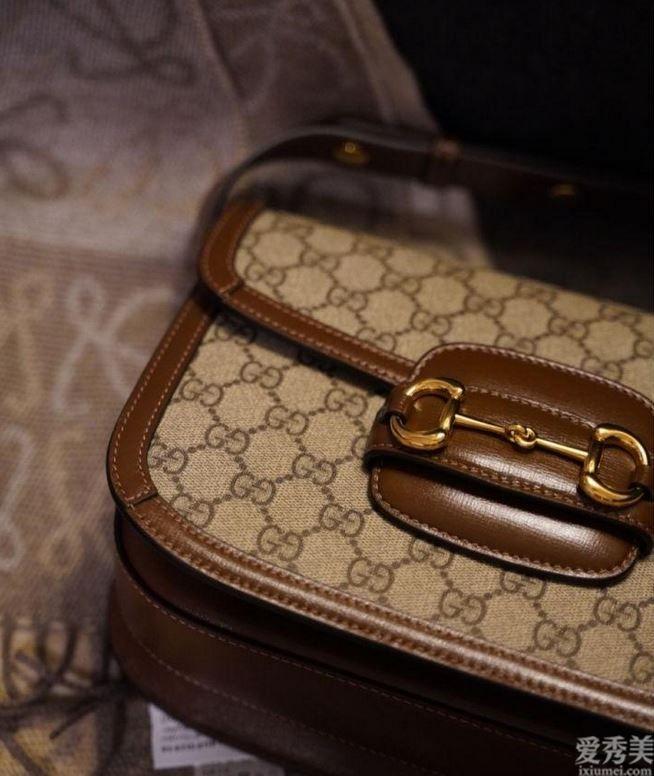 品牌包包賞析:Gucci1955馬鞍包,小個子還可以hold住