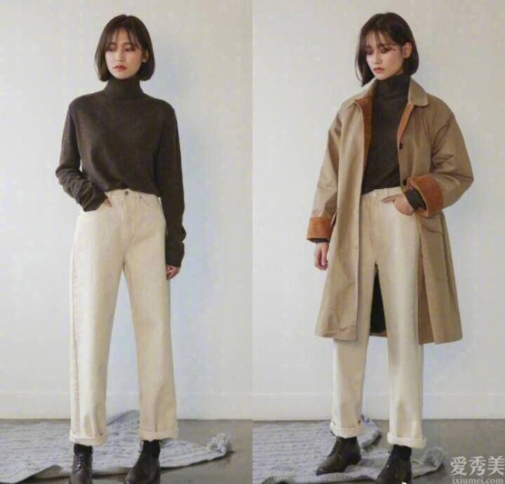 適合短發女孩的秋冬季穿搭示范,幹凈利索率直氣質恰當!