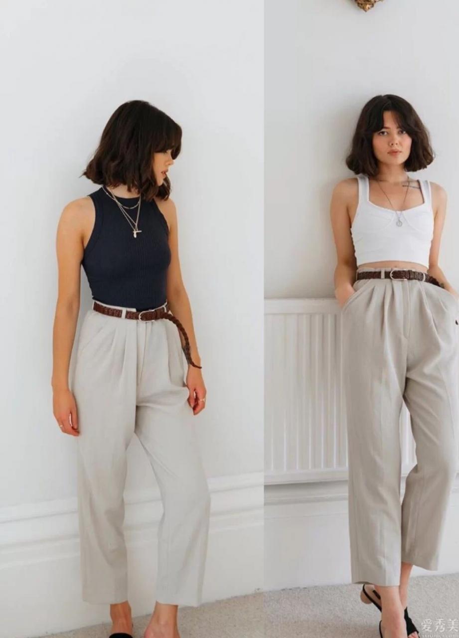試一下一衣多穿,一條復古休閑牛仔褲拿到七天,潮流趨勢還高級