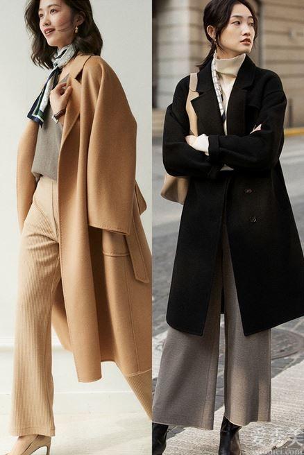 秋季輕熟風穿衣打扮,休閑出行潮流趨勢持續線,清雅知性的情調氣質極其
