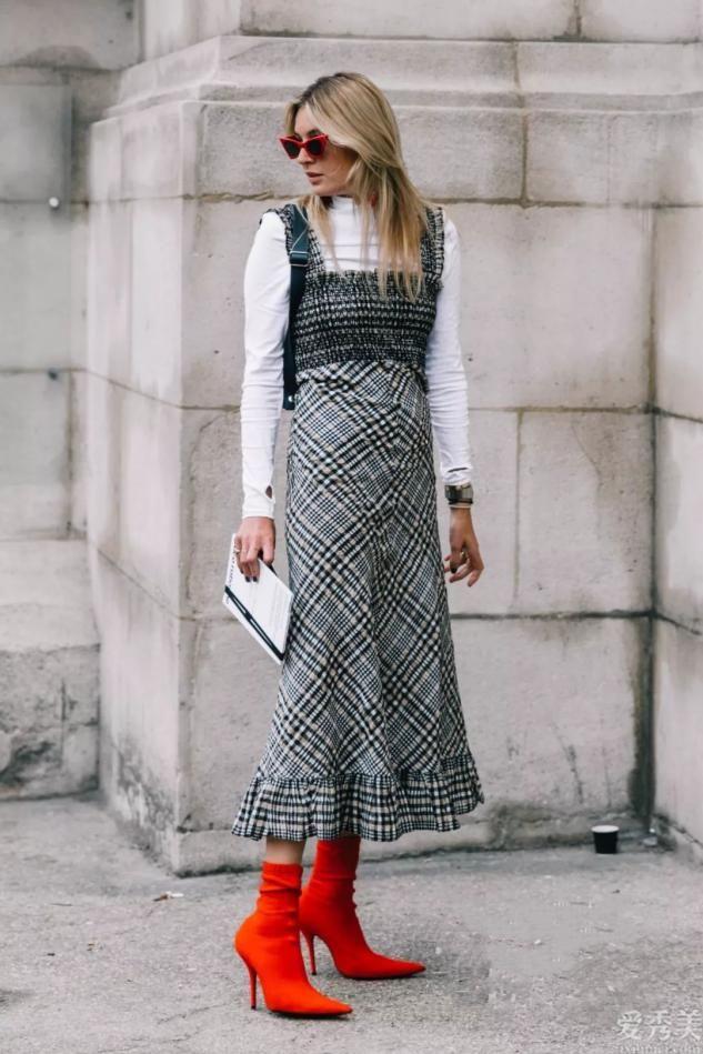奔四奔五的女性,靴子不必總穿灰黑色,多穿這3種顏色,十分顯氣場