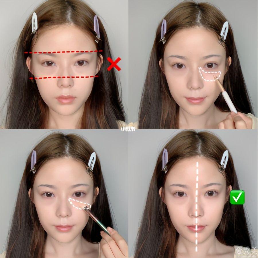 畫妝反變醜?新手常犯的5大NG錯誤觀點 腮紅畫錯位置老五歲