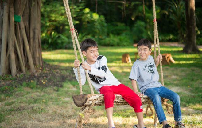 小朋友在這裡類地區玩樂能夠提高身體抵抗能力