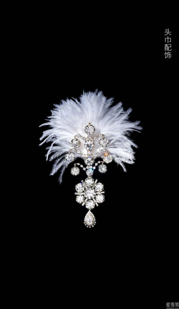 印度的珠寶裝飾品各式各樣,從項鏈到頭飾統統好看又奢華