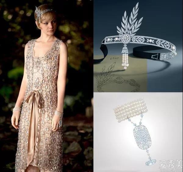 ArtDeco風格珠寶首飾,大名鼎鼎,具有節奏性的視覺沖擊撞擊力