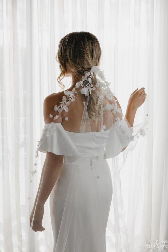 高定時裝秀中的盆栽花卉小仙女嫁紗:溫和優美,ReemAcra最熱血沸騰