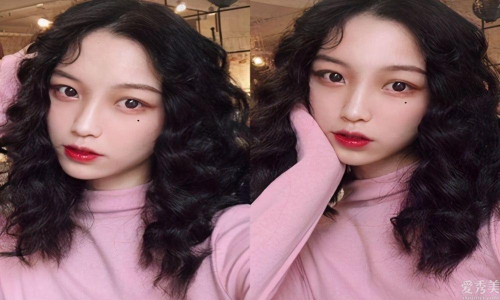 韓風中長卷發女孩兒發型2020年流行的氣質燙發發型
