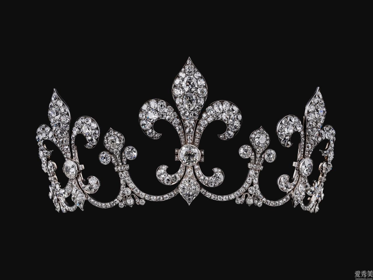 歐洲宮廷珠寶飾品產品系列之四:冠冕
