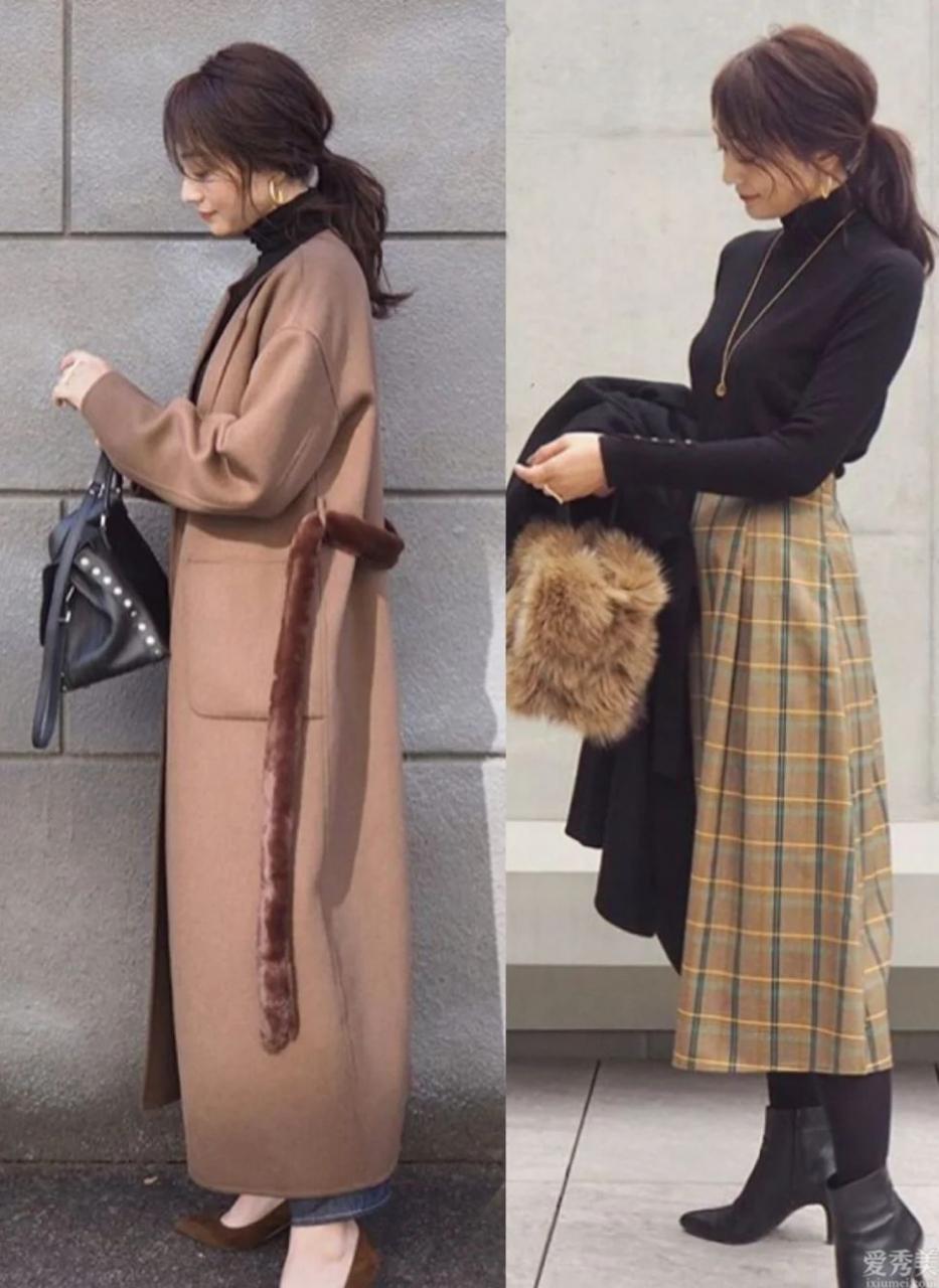 冬初衣服和褲子在精沒有多,搭配在簡不需繁雜,追隨學基礎款搭成高級感