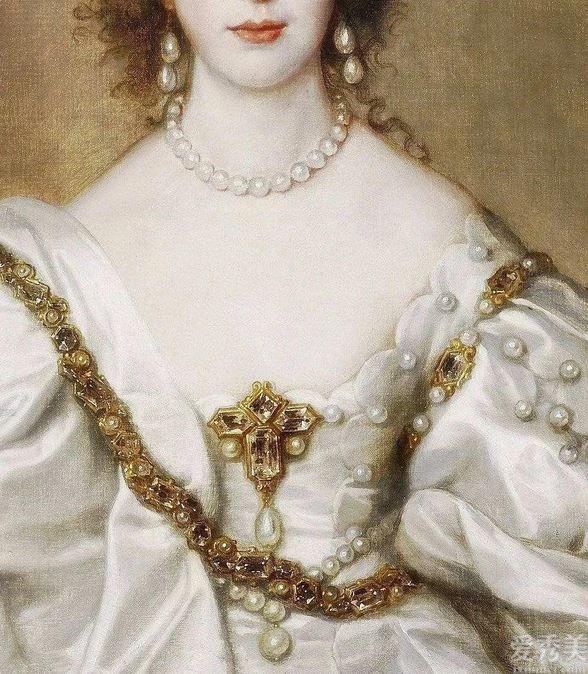 深受皇室偏愛的巴洛克風格珠寶,太美瞭