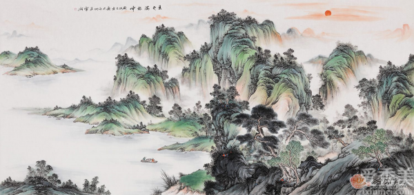 流雲附雨繞千山 縱情任意山水間——畫傢王寧作品欣賞