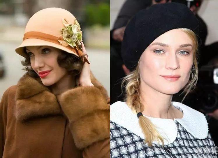 """共享資源適合冬季戴的6款帽子,看起來氣質又年輕,還能顯""""臉瘦"""""""