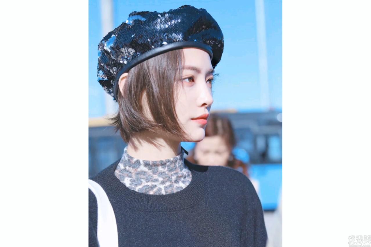 貝雷帽迎面而來,一線明星冬天優選,戴適當瞭又暖又時尚潮流