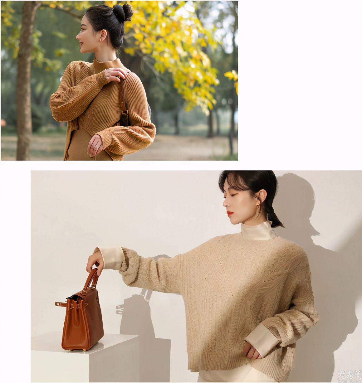 """冬天的針織衫不用買瞭多,從零教你挑""""時興款"""",好搭還可是時"""