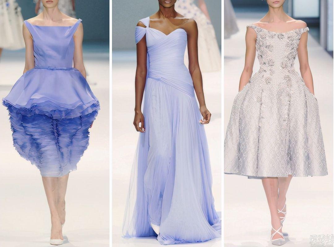 Ralph&Russo炫酷清雅春季產品系列,白色高定禮服