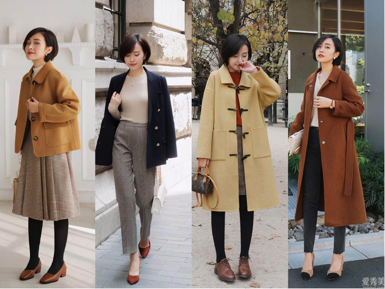小個子女生冬初審外套,牢記這六點,穿出纖細顯瘦魔鬼身材又有氣質