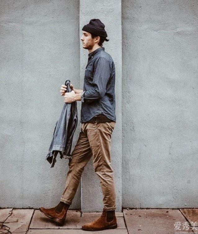 男孩兒備靴「切爾西靴」搭配西裝、格子呢超級變身英倫風格小生建議