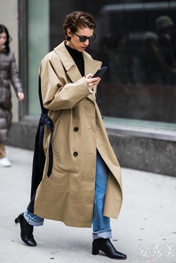 """真正會穿著打扮的女士,冬天更愛穿""""大地色"""",這類配搭方式十分非常值得仿效"""