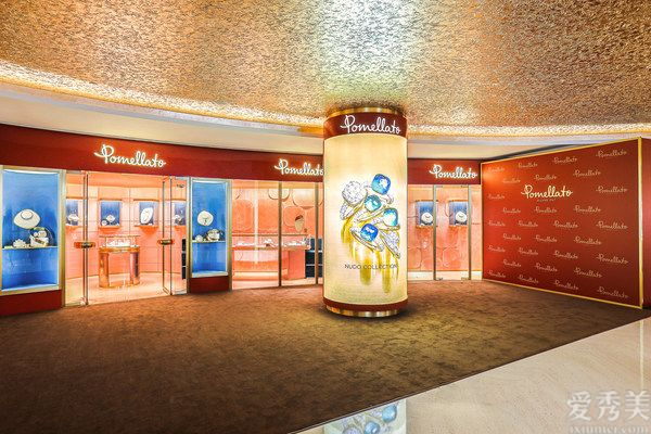 鎏光溢彩 匠心臻傳 揭幕Pomellato寶曼蘭朵上海恒隆精品店