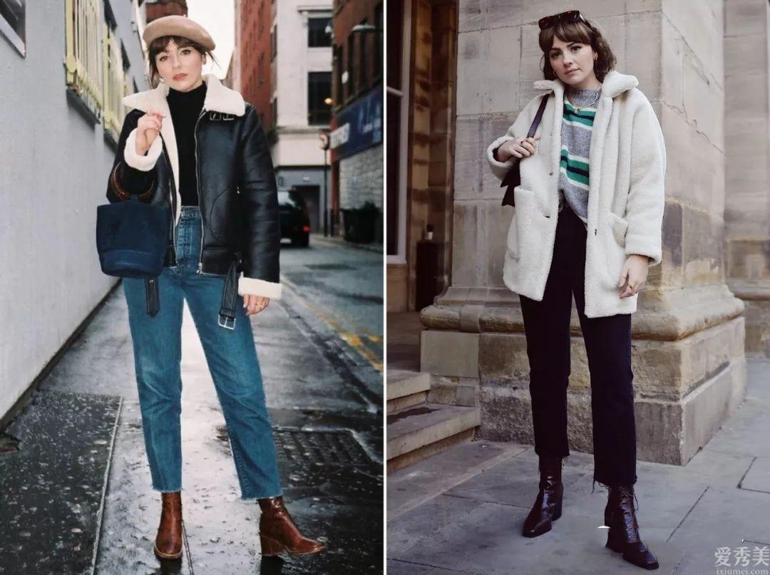 從僅有155cm個子,美國時尚博主的穿搭中,學習矮個子的女孩適度穿法