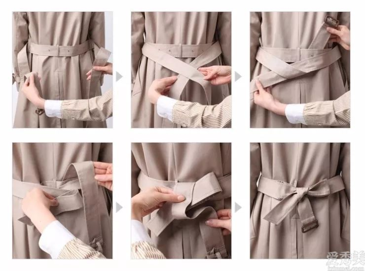 腰帶的4種系法,學精之後,此後不用隨便綁瞭,連衣服和褲子都變貴瞭