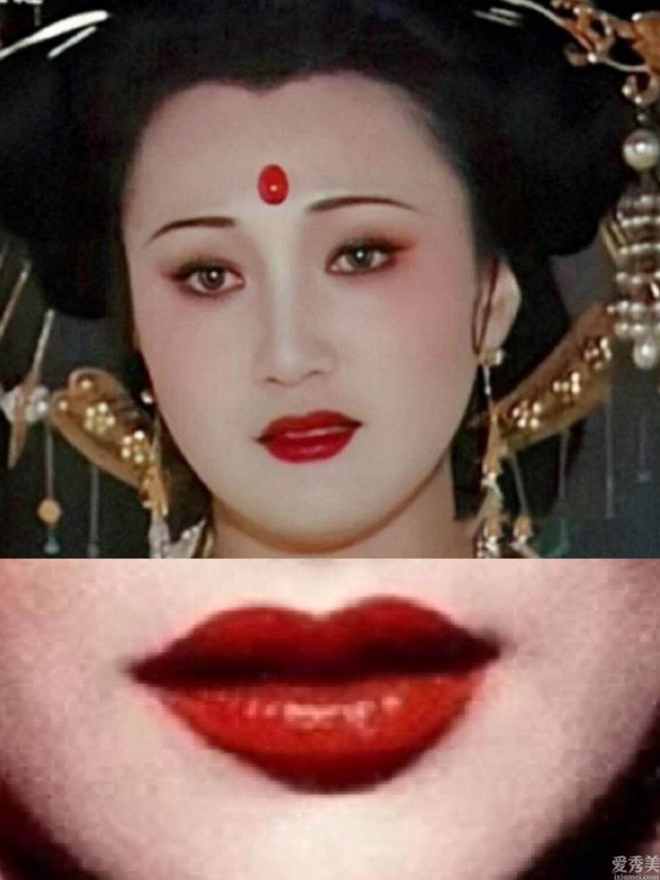 國韻復古休閑妝容在冬季應該是美麗迷人的!五個畫法!震撼唇妝讓你最溫柔