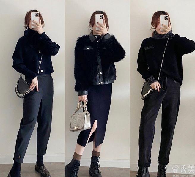 冬季無須為色彩搭配苦惱,穿好這種基本色仍舊美