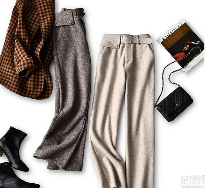 褲子在精沒有多,這個冬天流行這幾類,時髦顯高,配搭中長款大衣棉衣都好看