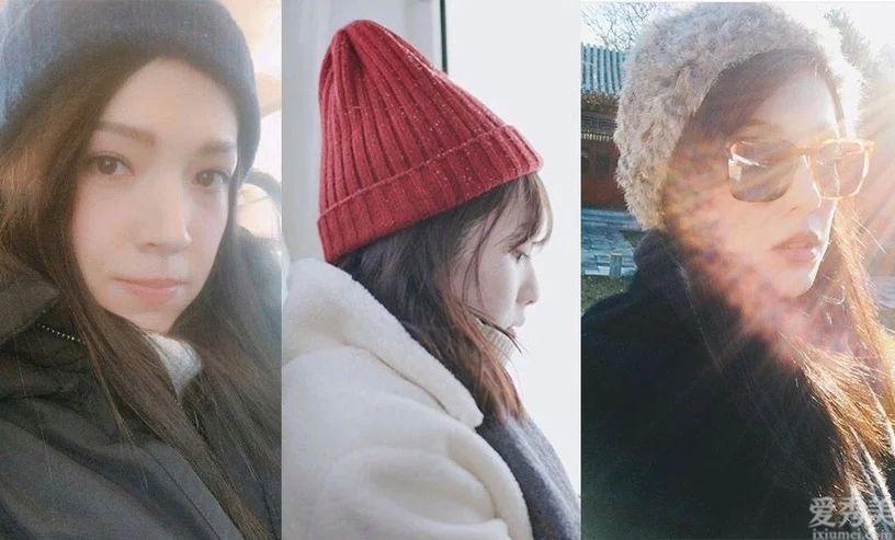 「毛帽」那般戴秒變小臉!所有臉型的戴法!