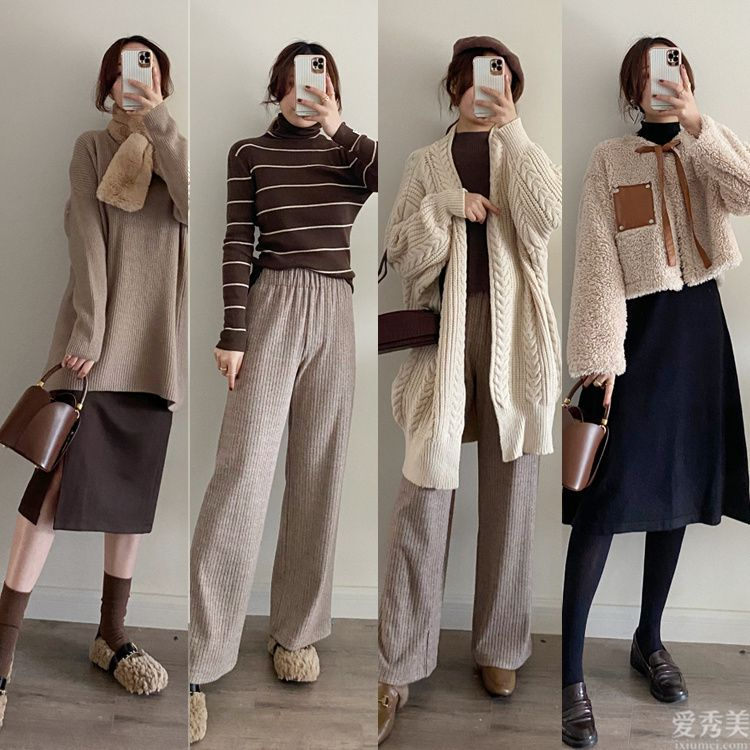 冬季穿著打扮色調最重要,巨溫柔的燕麥色穿衣服搭配look,清雅到心靈深處