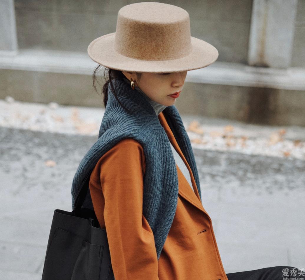 冬天別老戴毛線帽子,無帽不歡的小編常戴這四款,防凍保暖高級顯臉瘦