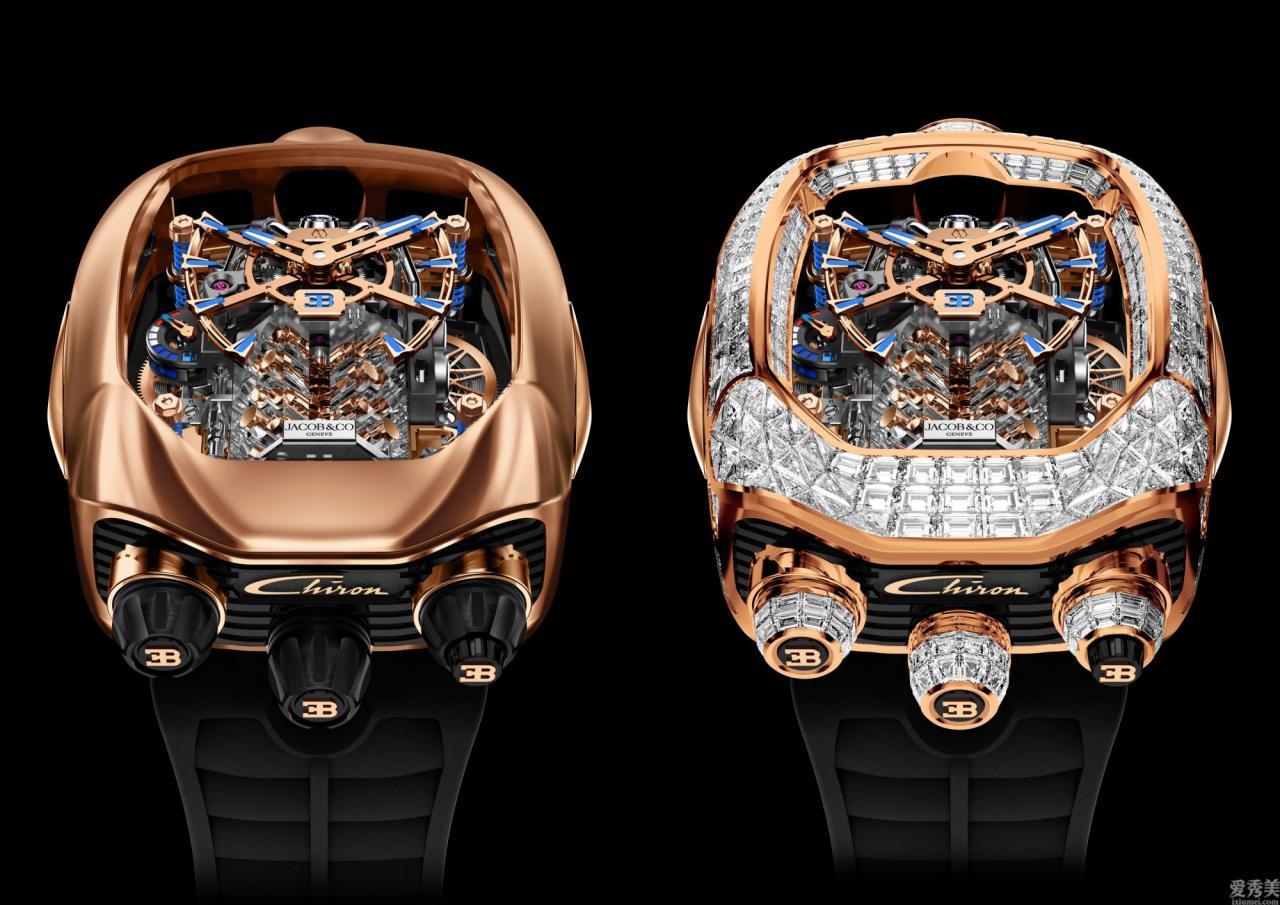 比絕大多數汽車還貴的佈加迪Chiron陀飛輪手表,簡直是藝術品