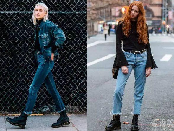 """冬天女人穿靴子,你是否還記得避免""""2個高度"""",否則顯得大粗腿小個子"""