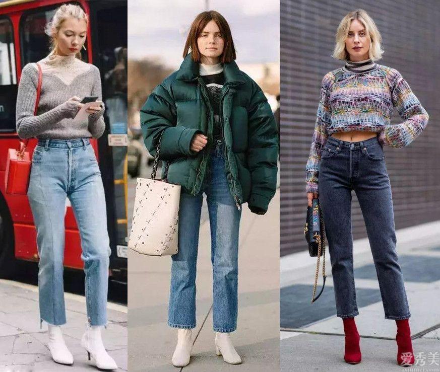 """這個冬天流行那般穿靴子,""""不塞褲腿""""一樣美,小個子也適合"""