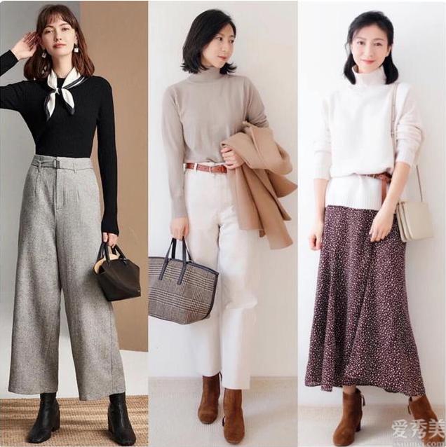 清雅精美的四十歲女人,2020年冬季流行這5種穿衣打扮,時髦溫柔有氣質
