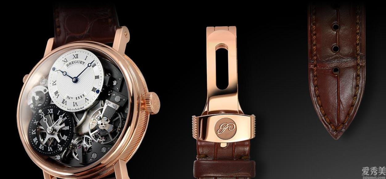 寶璣(Breguet)傳統GMT手拉式上鏈40mm