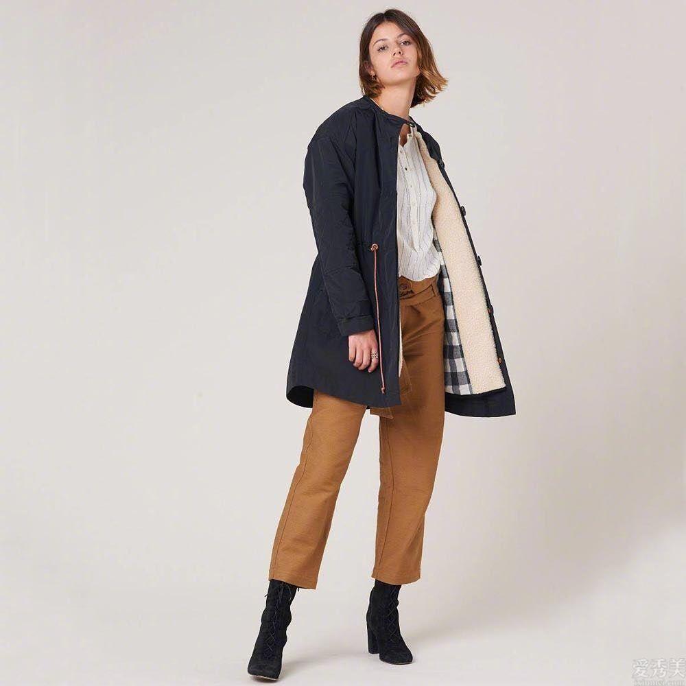 """修身褲早就過時瞭!這個冬天""""大褂褲""""正當行為紅,時尚潮流遮肉還巨顯修長美腿"""