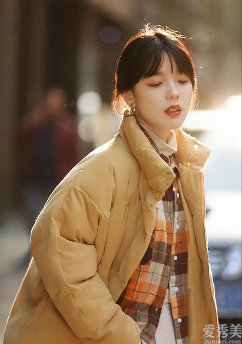 超好用的6套棉服外衣穿搭手冊,冬天學好那樣穿,防寒保暖溫柔又時尚潮流