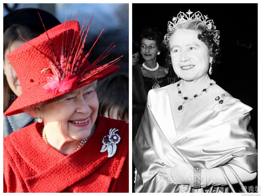 英女王戴過的胸針,這枚曾2次出現在演講會上,由此可見其鐘愛水平