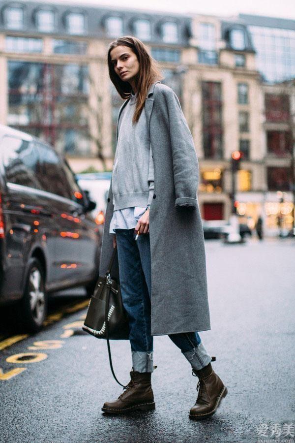 """真實會穿的女性,冬季挑大衣都選""""H型"""",時尚潮流顯高又空氣"""
