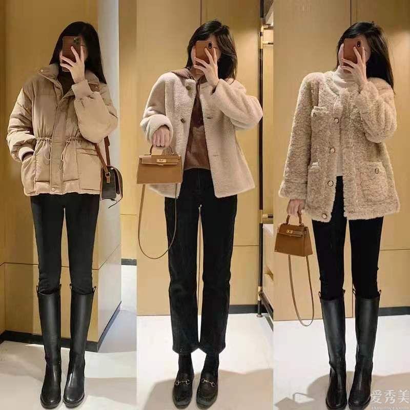 冬季盡量避免穿緊身褲配大衣,流行甜酷搭配,顯氣場又顯年輕