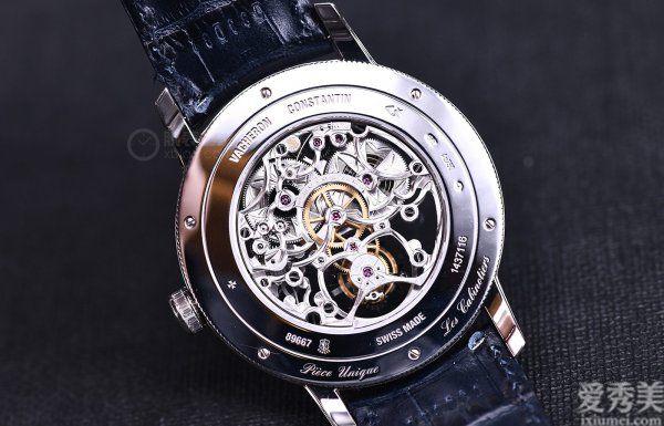 完美奢侈品評江詩丹頓隔樓工匠鏤雕陀飛輪高級珠寶腕表