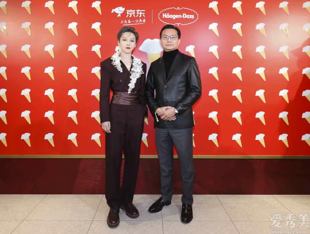 """哈根達斯攜手品牌大使劉雨昕 在新年與你""""唇情巧意寵一起"""""""