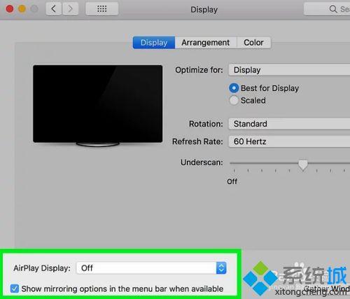 如何解決蘋果筆記本連接顯示器顯示不全的問題