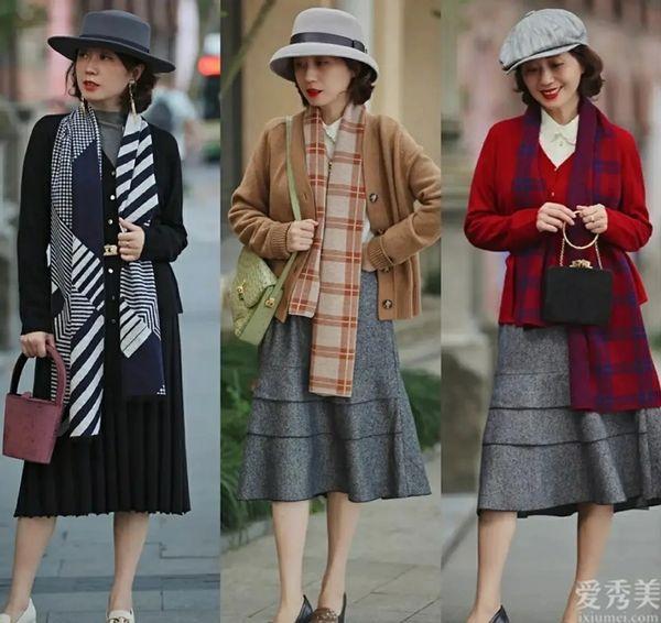50歲女人穿衣提議年青點,把握這4個當心機!