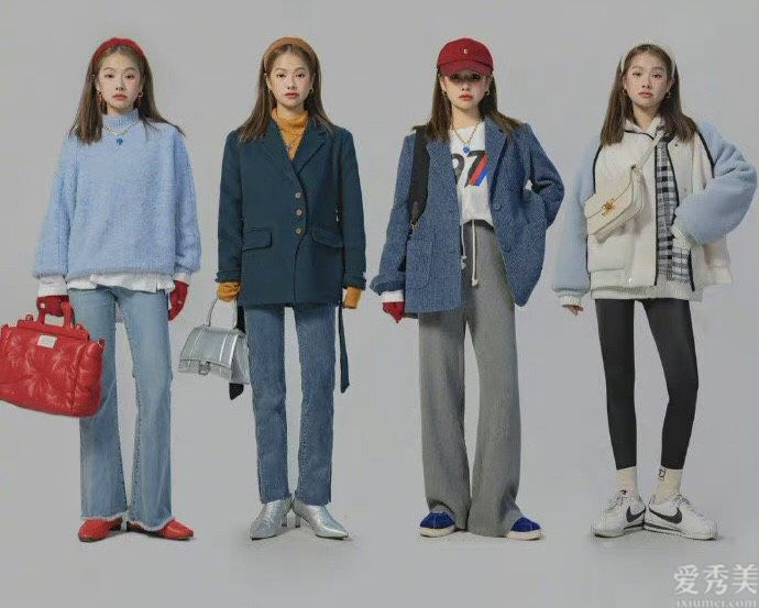 小個子的時尚色彩穿衣搭配樣本:顯高又顯高,時尚潮流有活力