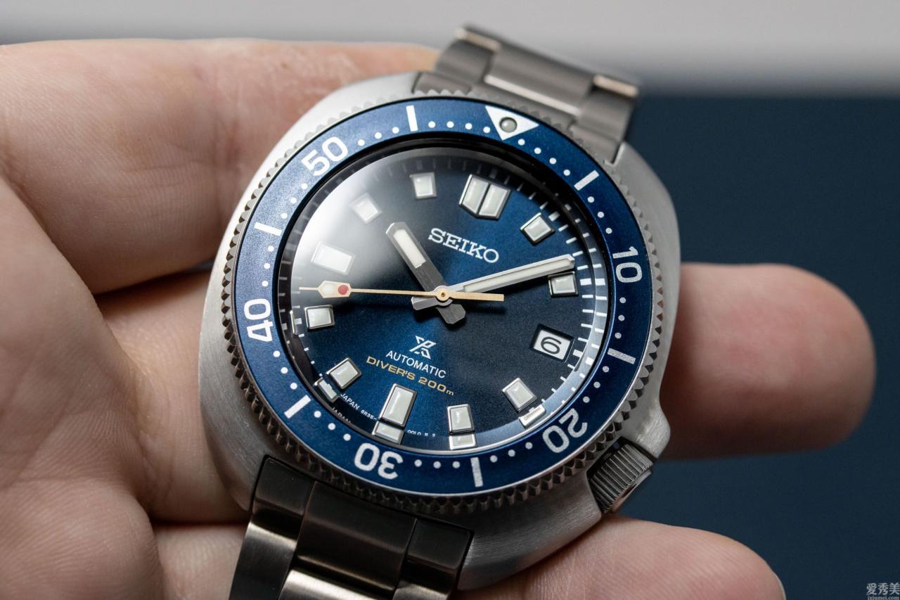 精工ProspexDiver55周年紀念腕表