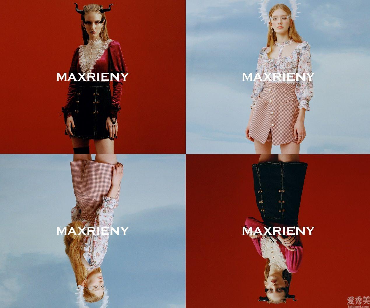 """MAXRIENY2021全新主題""""天使與惡魔"""",捕捉每個女孩心底真實的自己"""