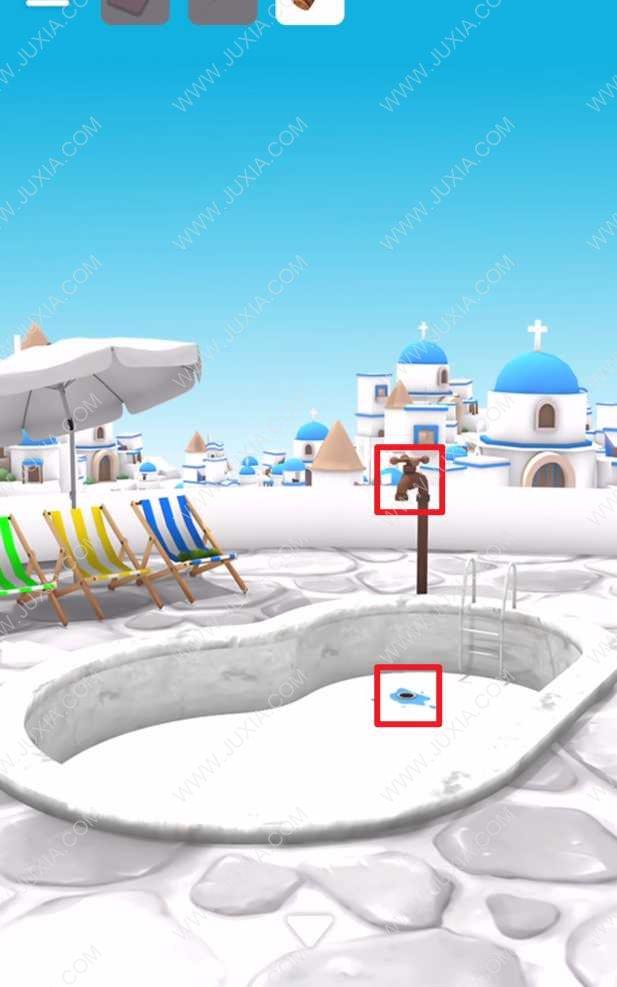 逃脫遊戲聖托裡尼島攻略第二關 木塞在哪裡怎麼找到木塞